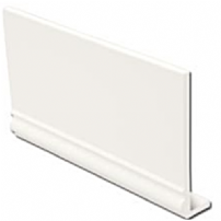White Ogee uPVC Fascia Capping Board 9mm 5mt